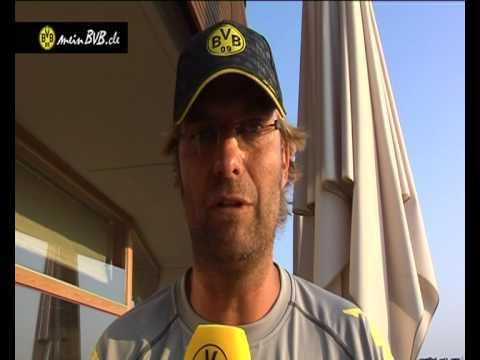 Trainingslager Tag 6 - Interview mit Jürgen Klopp zum Testspiel gegen Manchester City
