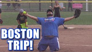 WE WENT TO BOSTON! | On-Season Softball Series