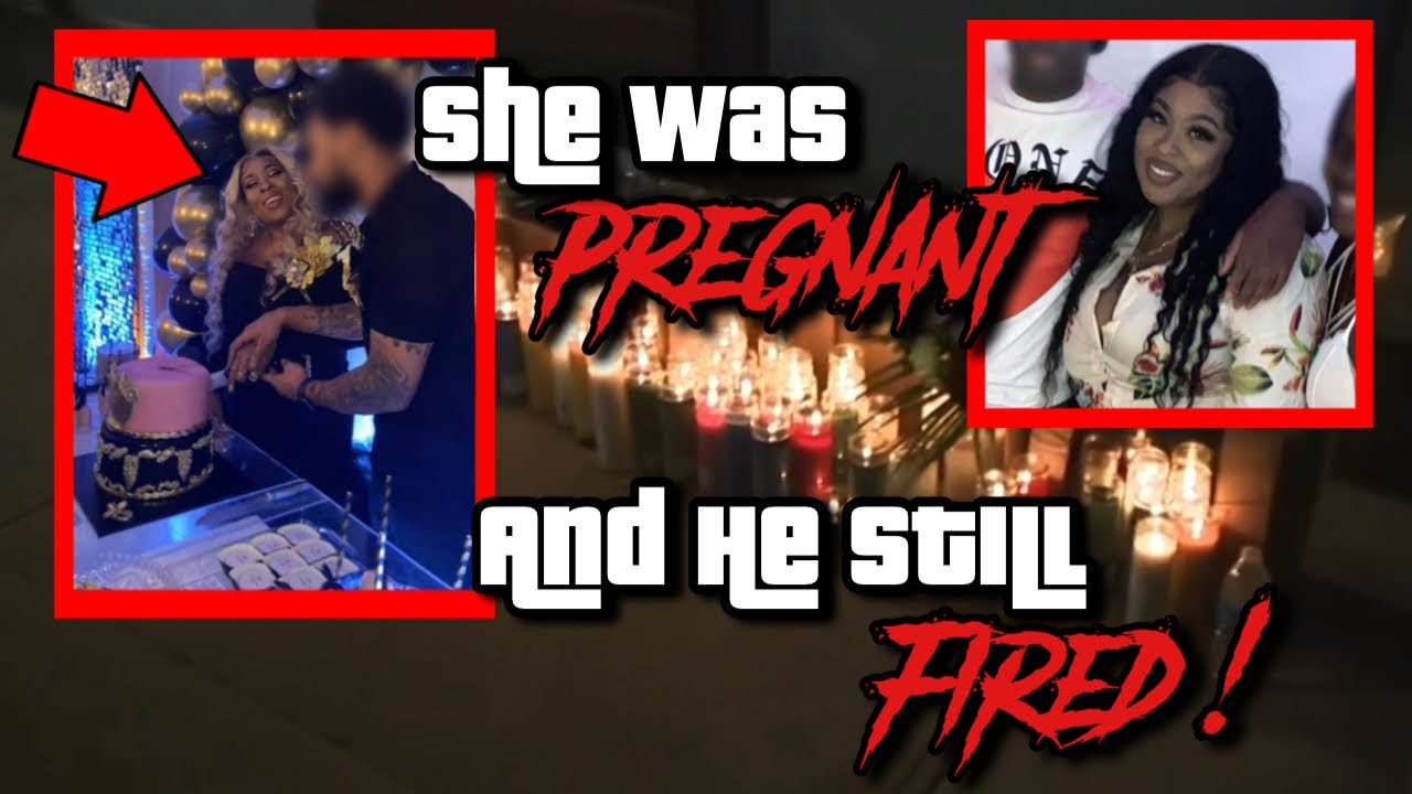PREGNANT MOM KILLED, EX-BOYFRIEND ALLEGEDLY CAUGHT HER NEW MAN LACKIN AFTER THE BABY SHOWER