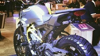 Aje Gile!!! Jantan Cak Modifikasi Honda CB150R Exmotion Scrambler Cafe Mp3