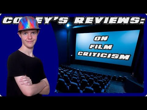 Corey's Reviews: On Film Criticism