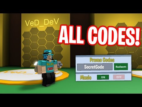 ALL CODES IN BEE SWARM SIMULATOR! 2018