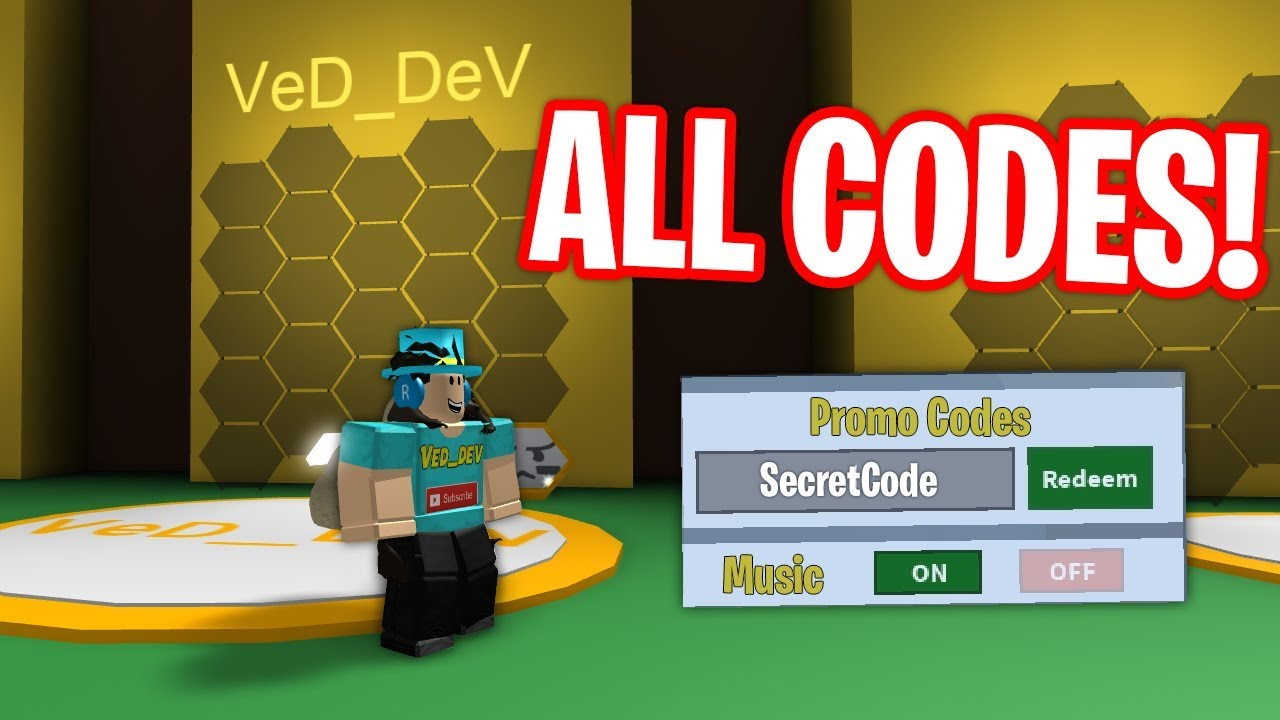 All Codes In Bee Swarm Simulator 2018 Youtube
