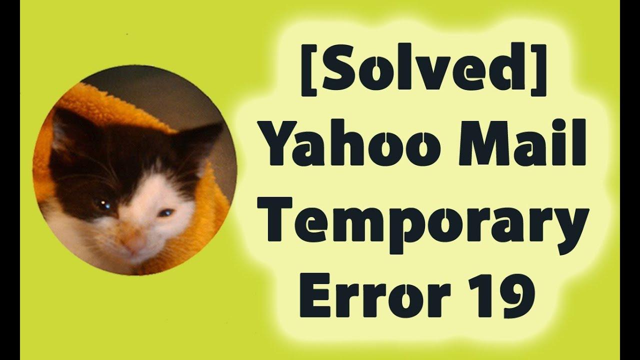 Yahoo-Fehler 999