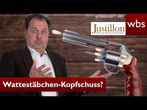 Wattestäbchen-Kopfschuss Durch Russisch Roulette - Verurteilt! | Rechtsanwalt Christian Solmecke