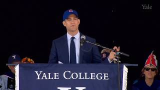 Yale College Class Day 2017 Address by Theo Epstein thumbnail