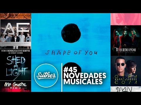 Lista Nº 45 De Novedades Musicales En Suther (07/02/17)