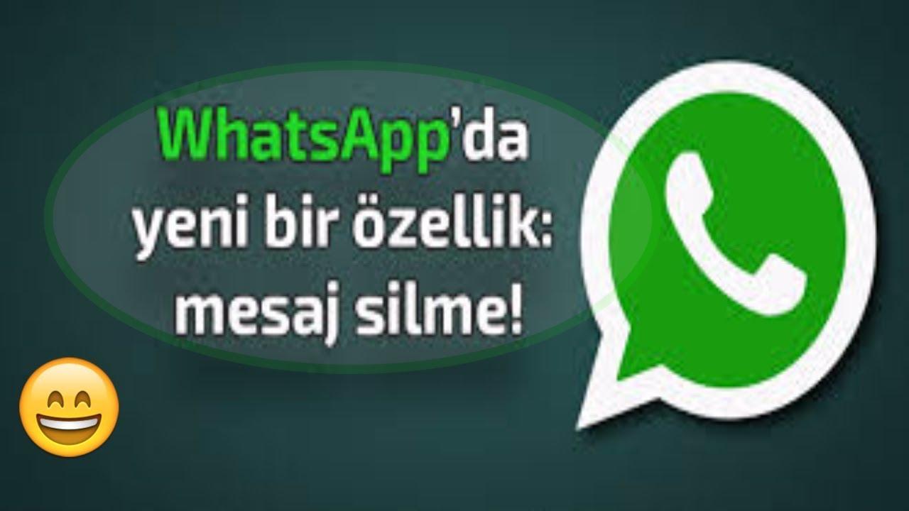 whatsapp güncelleyince mesajlar silinir mi