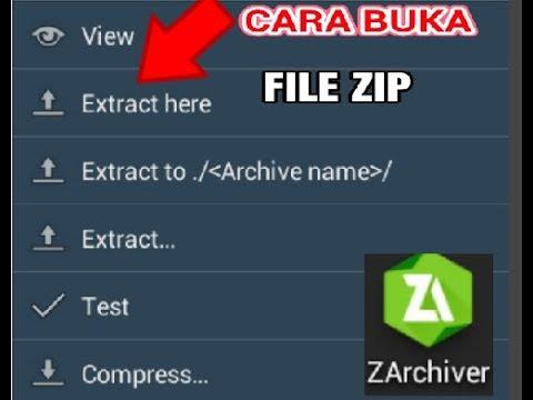 Cara Mudah Membuka File Zip Atau Rar Di HP Android