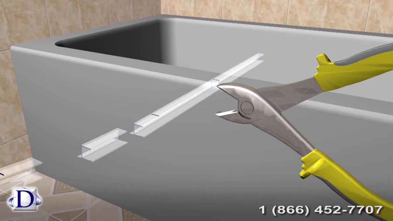 Bathroom Glass Door Rubber Seal Installation Guide