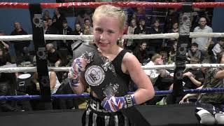 Ring Clash 2 Video clip Isla Rose Selby Martial Arts  V Kelsey Welshman Trojan Martial Arts