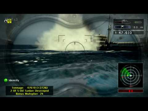 Naval Assault The Killing Tide - Xbox 360 - official video game trailer HD