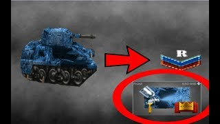 Tanki online - Frost Paint On -Recuit Rank /New update