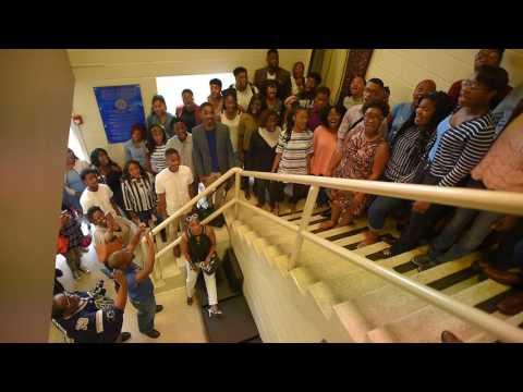 Oakwood University Aeolians - Celebrating Mervyn at Wall of Honor