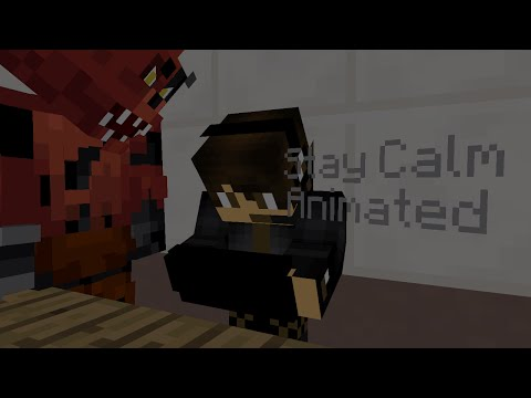 ♫Stay Calm♫ l Five Nights at Freddys Song l By Griffinilla (FULL MINECRAFT ANIMATION)