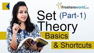 Aptitude Made Easy - Set Theory – Part 1, Basics and Methods, Shortcuts, Tricks