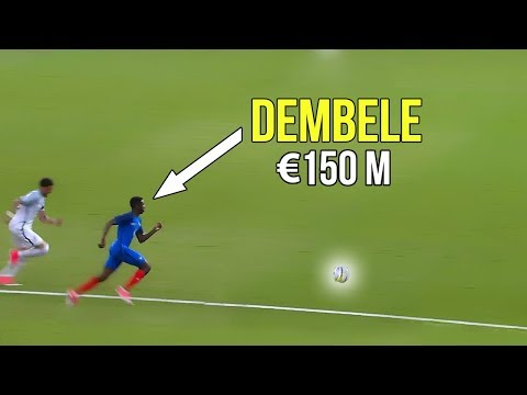 Thumbnail: The match that made Barcelona buy Ousmane Dembélé because of his crazy skills & goals | €150 million