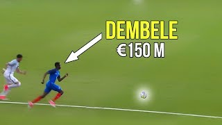 The match that made Barcelona buy Ousmane Dembl because of his crazy skills  goals  150 million