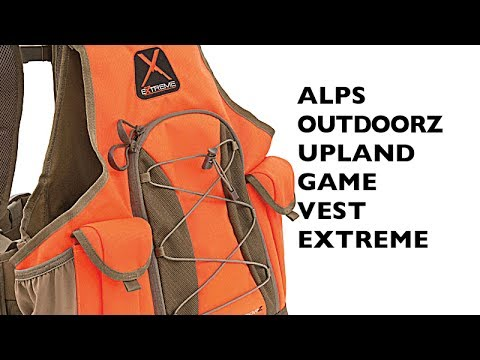 Alps Outdoorz, Upland Game Vest X, Orange