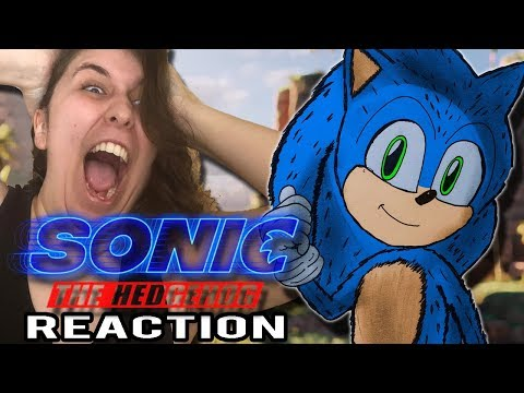 LIVE REACTION - The *NEW* Sonic the Hedgehog Movie Trailer 2  + Discussion