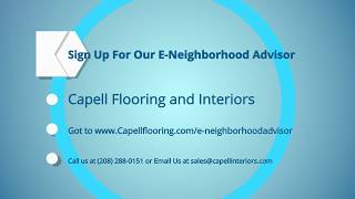 Signup for our Email Newsletter at Capell Flooring and Interiors