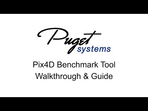 Puget Systems Benchmark Tool for Pix4D