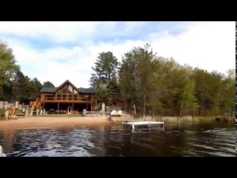 Lake Camelot WI Boat Ride