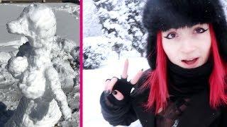 Neve a ROMA e bocce
