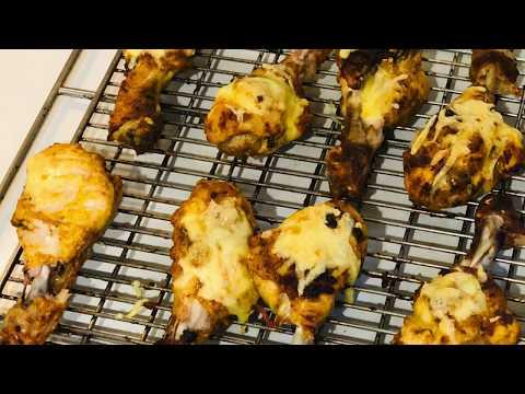 cheesy-tandoori-chicken-|-tandoori-cheesy-chicken-|roasted-chicken|-तंदूरी-चिकन-रेसिपी-बनाने-की-विधि
