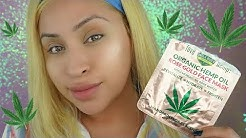 CBD SKINCARE - CANNABIS FACE MASK UNCLE BUDS ROSE GOLD FACE MASK #cbd #cbdskincare #cannabisproducts