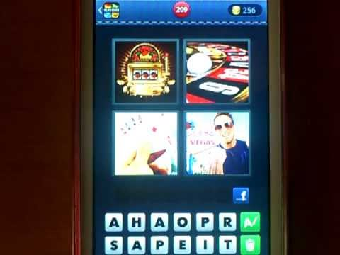 4 fotos 1 palabra cartas de poker