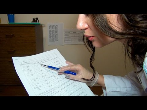 Doctor Role Play Allergist Part 1 ASMR Medical Exam Roleplay