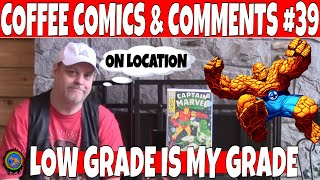 Coffee Comics & Comments #39 LOW GRADE COMICS and other Key Comic books to buy and get | Comic hauls