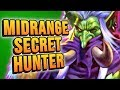 Midrange Hunter BUT WITH SECRETS and SUBJECT 9! | Rise of Shadows | Hearthstone