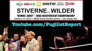 Bermane Stiverne Vs. Deontay Wilder & Don King Discuss The Eagerly Anticipated Heavyweight Showdown!