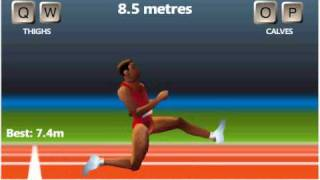 QWOP Pain and suffęring and injury