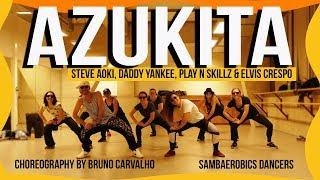 Azukita - Steve Aoki, Daddy Yankee, Play-N-Skillz &amp Elvis Crespo (Choreography)