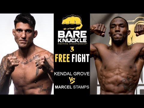 Devastating KO! BKFC 3: Kendall Grove vs. Marcel Stamps