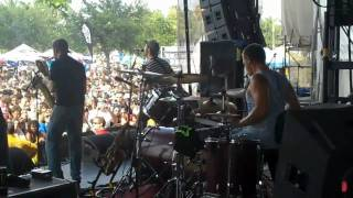 "Streetlight Manifesto Warped Tour 2010 ""The Receiving end of it all"""