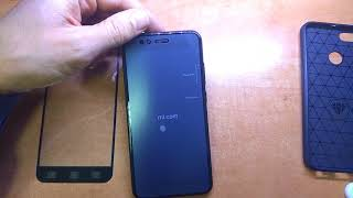 Xiaomi Mi A1 как клеить защитное стекло
