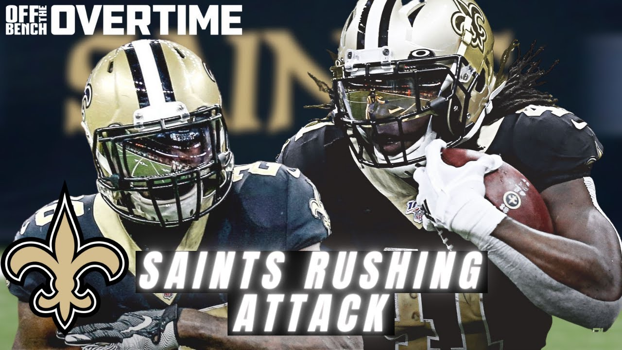 Saints Running Game: The Key to a Falcons sweep