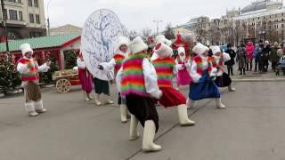 Смотреть видео Мсленица- 2017г. Москва. Автор видео Л.В.Саповская онлайн