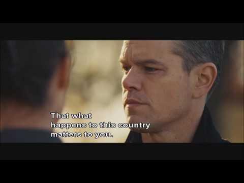 Jason Bourne Ending scene