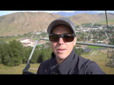 Amazing Approach into Jackson Hole Wyoming in a Private Jet - Pilot VLOG 140