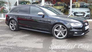 Audi S4 Avant Black edition, Phantom Black Pearl from Umesh Samani Specialist Cars Stoke