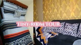 My Tiny Minimalist Room Tour /Living Space +Thrifted Glam Bed:Beauty on a Budget Nairobi, Kenya.
