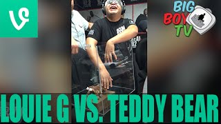 A grown man freaks out about touching a TEDDY BEAR!! (Full Video) | BigBoyTV