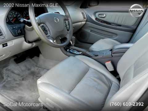 2002 Nissan Maxima GLE   SoCal Motorcars