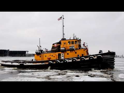 TUGBOATS and Crane Barges