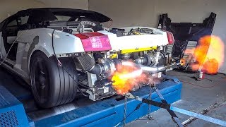 Here's How I Made My Cheap Lambo Shoot HUGE FLAMES IN 2 EASY STEPS! **SPICY**